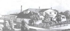 Vereinshaus im Jahr 1990