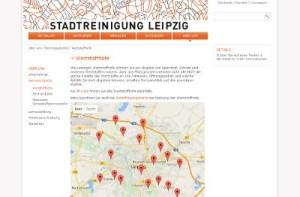 Stadtreinigung Leipzig - Wertstoffhöfe