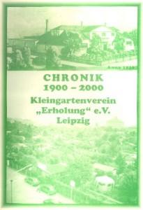Vereinschronik 1900-2000 Deckblatt